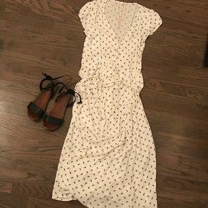 Gap - Floral Print - Wrap Maxi Dress